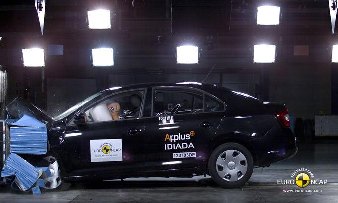 Euro NCAP nuotr./`koda Rapid
