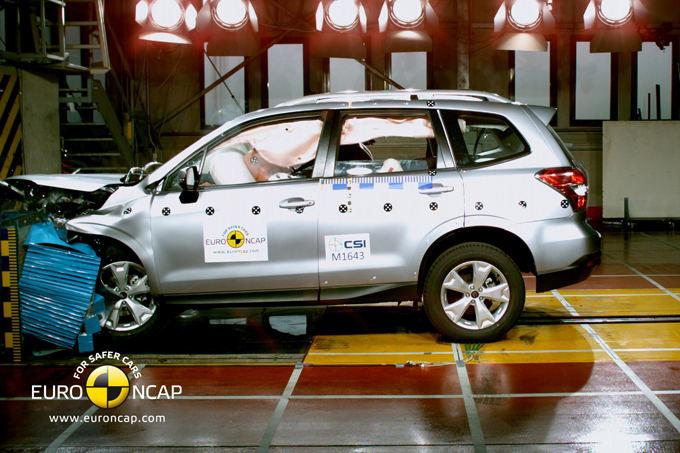Euro NCAP nuotr./Subaru Forester