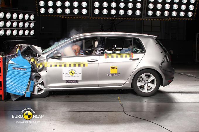 Euro NCAP nuotr./Volkswagen Golf