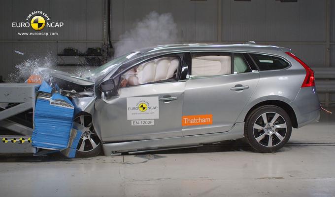 Euro NCAP nuotr./Volvo V60 Plung-In Hybrid