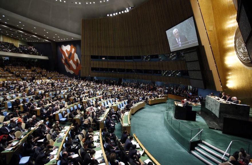 Scanpix nuotr./Jungtinių Tautų generalinė asamblėja
