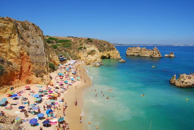 Fotolia nuotr./Dona Ana paplūdimys Algarvėje (Portugalija)