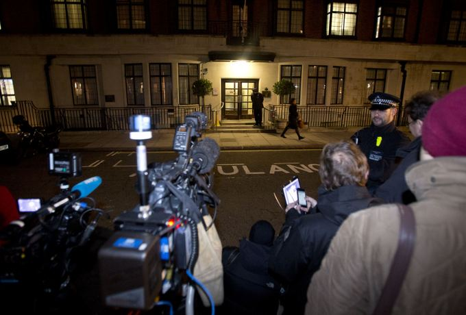 Reuters/Scanpix nuotr./Ligoninė, kurioje guli hercogienė Catherine