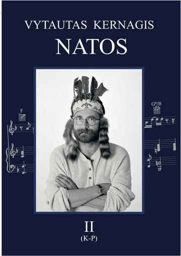 """Knygos viršelis/Natų knyga """"Vytautas Kernagis. Natos II"""""""