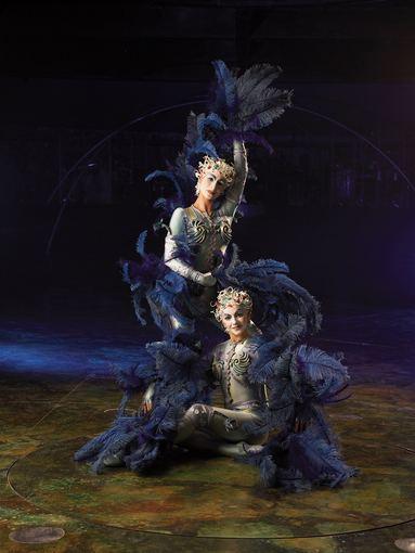 """Organizatorių nuotr./""""Cirque du Soleil"""": nimfos"""