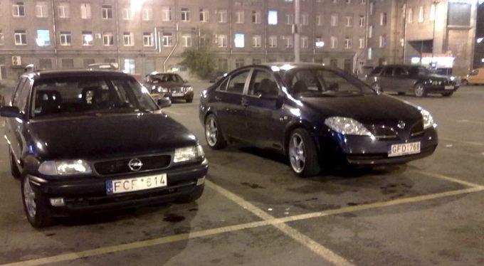 GAZAS.LT skaitytojo nuotr./Automobiliai Rusijoje, su lietuviakais valstybiniais numeriais