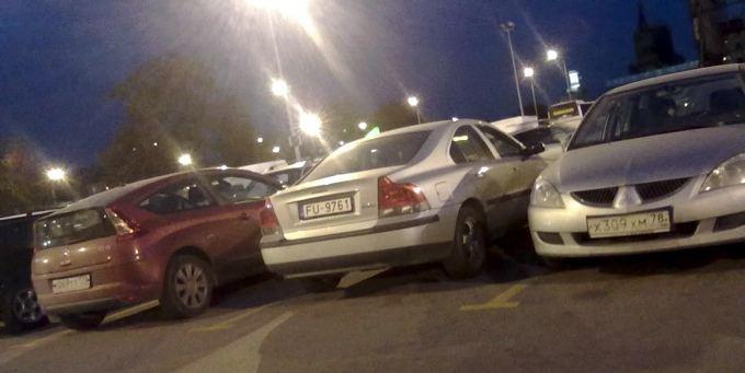 GAZAS.LT skaitytojo nuotr./Rusijoje sutinkama ir automobilių su latviakais numeriais