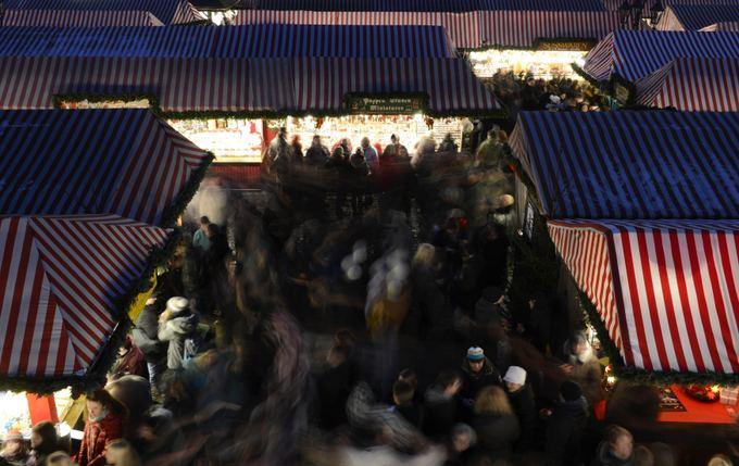 AFP/Scanpix nuotr./Niurnbergo kalėdinis turgus