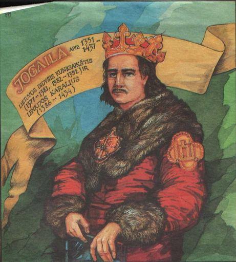 Jogaila iš pradžių buvo Lietuvos didiysis kunigaikštis, o po to - aukščiausias kunigaikštis