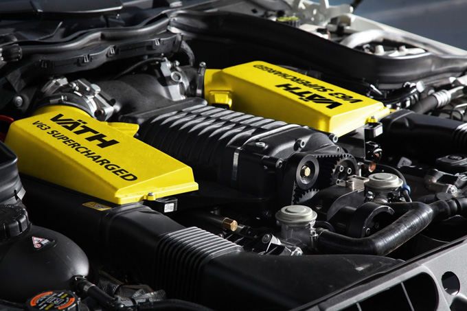 Gamintojo nuotr./Mercedes-Benz C63 AMG su Vath paketu