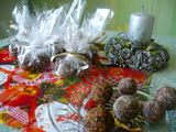Autorės nuotr./Rieautų ir razinų saldainiai