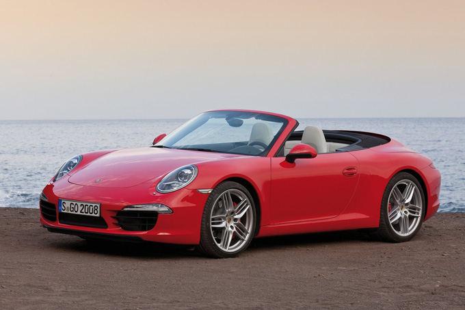 Gamintojo nuotr./Porsche 911 Carrera S Cabiolet