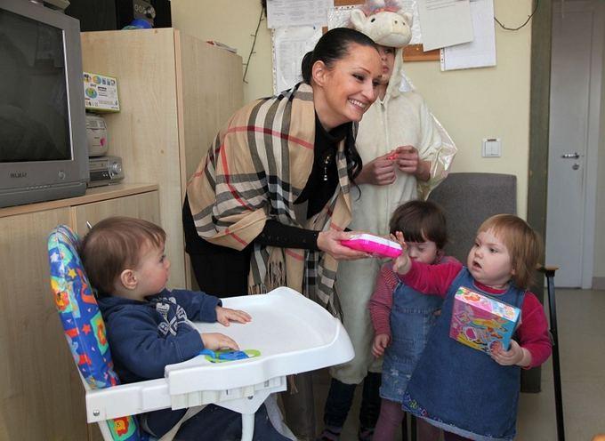 Vaido Grudžio nuotr./Inga Budrienė su mažyliais