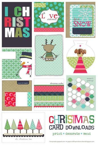 Ginger & George/Kalėdiniai atvirukai