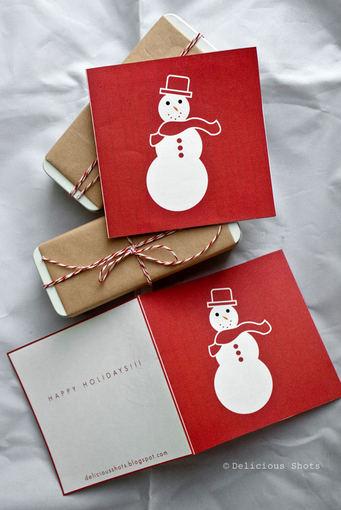 Delicious Shots/Kalėdiniai atvirukai