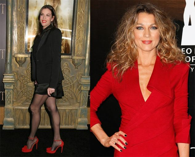 Photobox, GettyImages nuotr./Raudonas akcentas  aventinė nuotaika. Tai puikiai žino aktorės Liv Tyler (nuotraukoje kairėje) ir Natalie Zea.
