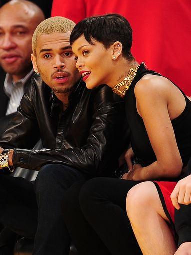 """""""Scanpix"""" nuotr./Rihanna ir Chrisas Brownas"""