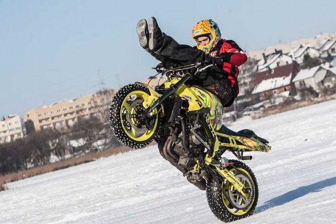 Juliaus Kalinsko/15 minučių nuotr./Motociklininkas Aras Gibieža
