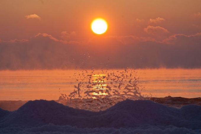 Juliaus Kalinsko/15 minučių nuotr./Baltijos jūra žiemą