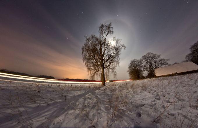 Irmanto Gelūno/15min.lt nuotr./Žiemos peizažas spaudžiant 29 laipsnių aalčiui.