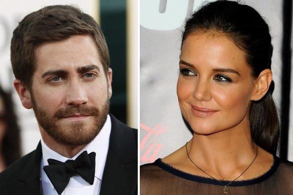Jake'as Gyllenhaalas ir Katie Holmes