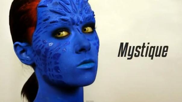 "Talentinga 18-metė Emma Pickles virto ""Iksmenų"" personaže Mystique"
