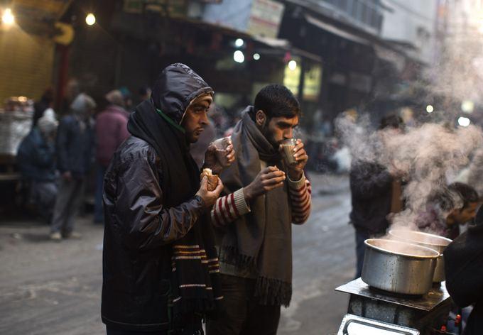 Reuters/Scanpix nuotr./Delyje sausio 2 d. buvo užfiksuota aalčiausia diena