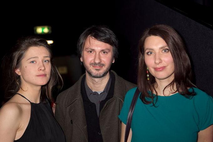 Viganto Ovadnevo/Žmonės.lt nuotr./Ia kairės: Jurga Jutaitė, Bruno  Samperis ir Kristina Buožytė