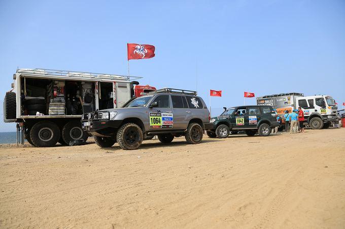Tomo Tumalovičiaus nuotr./Dakaro ralio dalyvių parkas