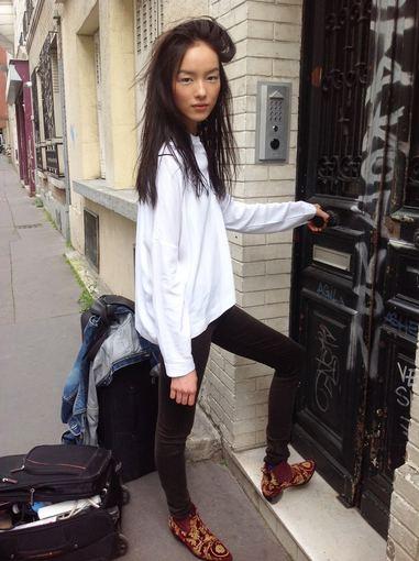 """Twitter"" profilio nuotr./Manekenė Fei Fei Sun"