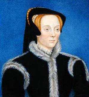 Suffolko kunigaikštienė Katherine Willoughby Suffolk pora metų praleido Kražiuose.