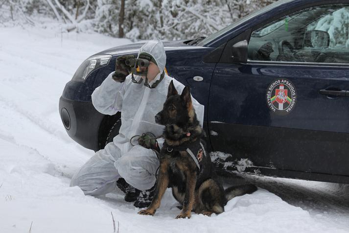 Pasieniečių patruliai