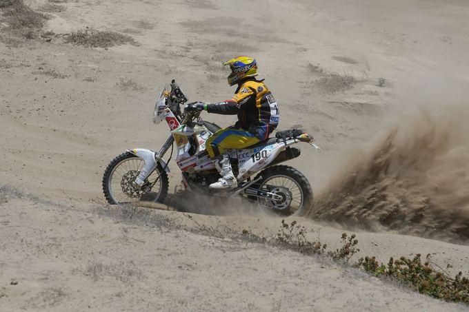 Tomo Tumalovičiaus nuotr./Lietuviams sėkmingas antradienio greičio ruožas Dakare