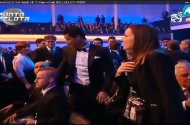 Josepas Guardiola nepanoro pasisveikinti su Cristiano Ronaldo