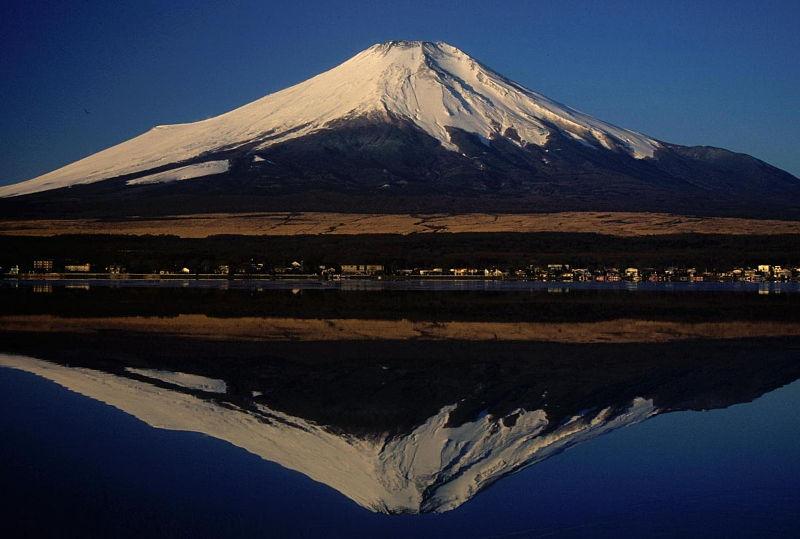 Japonijoje bunda Fudzijamos ugnikalnis
