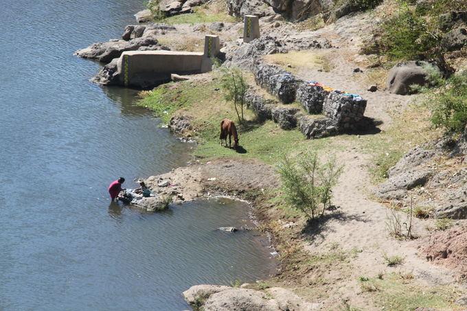 Evelinos ir Karolio nuotr./Kertant sieną link El Salvadoro