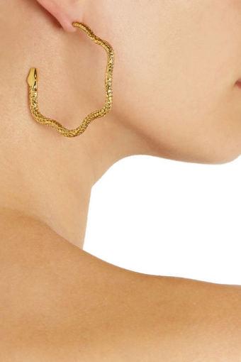 Aurélie Bidermann nuotr./Gyvatės formos auskarai
