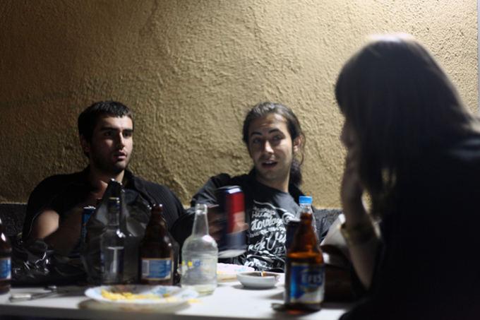 A. Vareikaitės nuotr./Viduryje - Mehmet, pasakojantis apie sirų aeimą