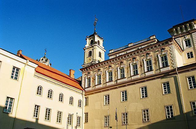 Vilniaus universitetas (V. Naujiko nuotr.)