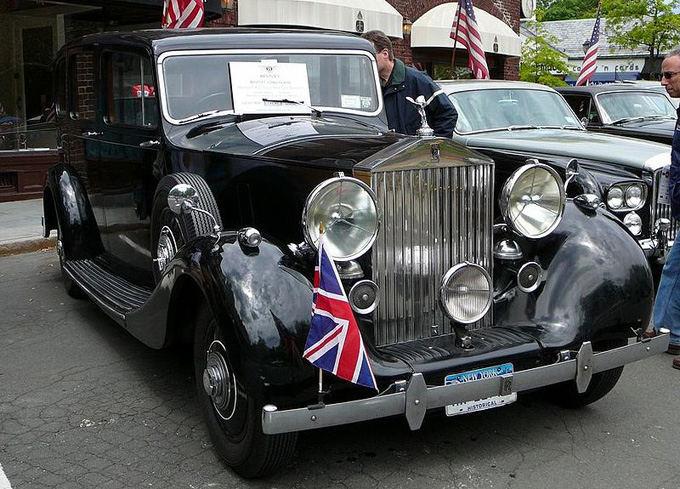 Wikipedia.org nuotr./1939-ųjų Rolls Royce Wraith