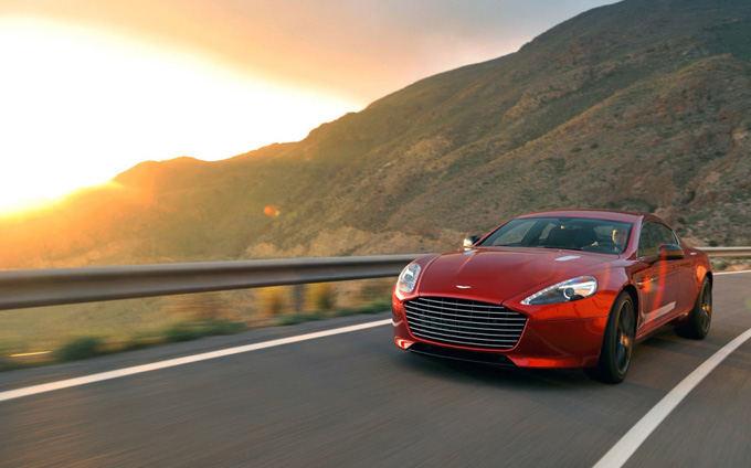 Gamintojo nuotr./Aston Martin Rapide S