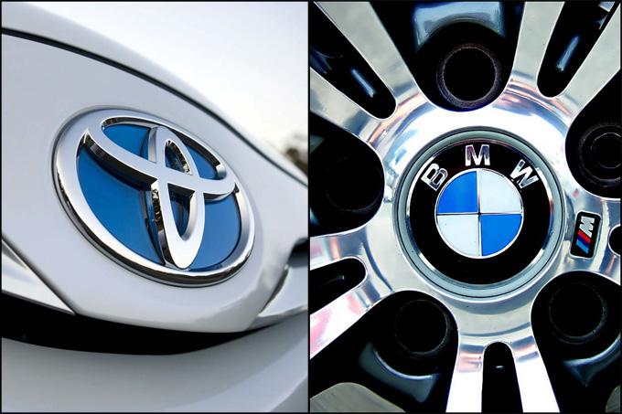 """""""Toyota"""" ir BMW"""