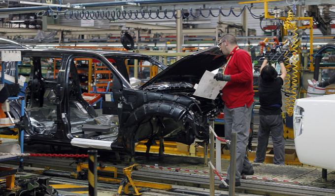 Nissan Motor gamykla Barselonoje