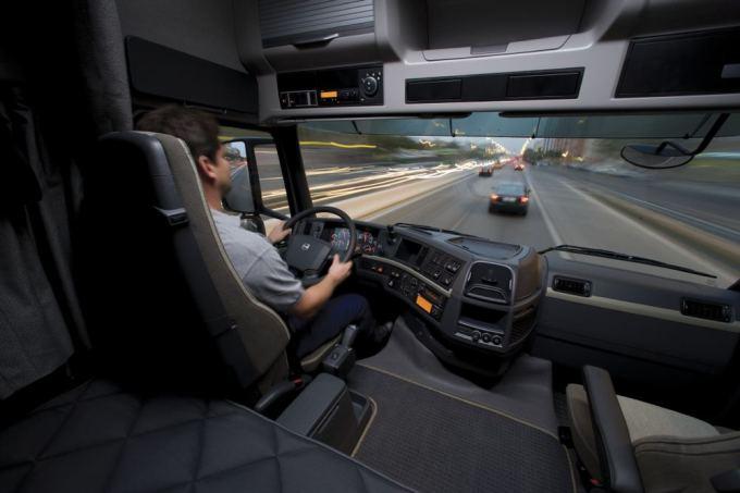 Volvo trucks nuotr./Vilkiko vairuotojas