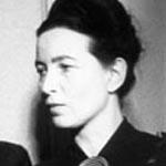 """WIkipedia"" nuotr./Simone de Beauvoir"