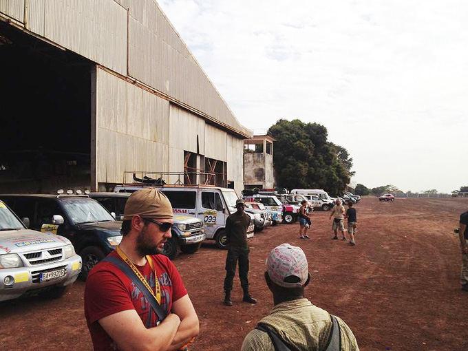 Komandos nuotr./Ralio Budapeatas-Bamakas finiaas