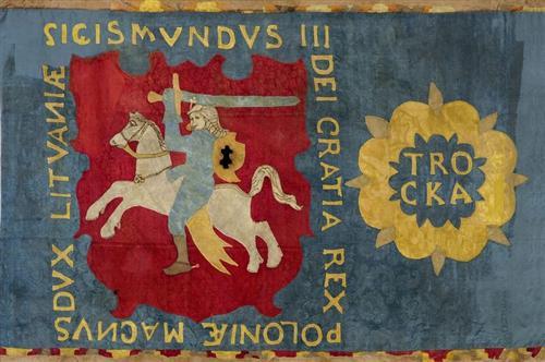 Lietuvoje išliko vienintelė LDK laikų - Trakų pavieto vėliava