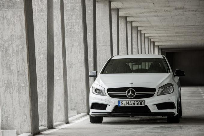 Gamintojo nuotr./Mercedes-Benz A45 AMG