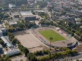 """Kęstučio Vanago/BFL nuotr./V.Romanovas daug tikėjosi iš investicijų į """"Žalgirio"""" stadioną bei Vilniaus koncertų ir sporto rūmus, tačiau projektas įstrigo"""