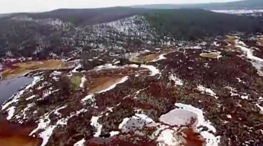 Vieta, virš kurios sprogo Tunguskos meteoritas